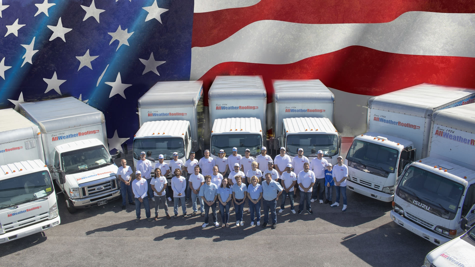 All Weather Roofing Florida Company team